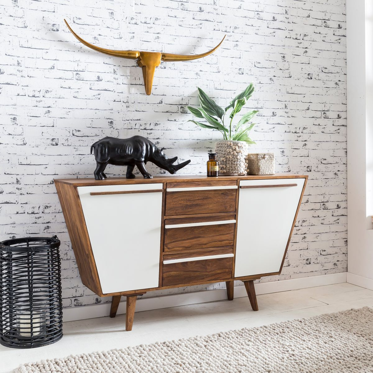 Caracole Modern Streamline Moderne Sideboard The Curving Forms Das ...