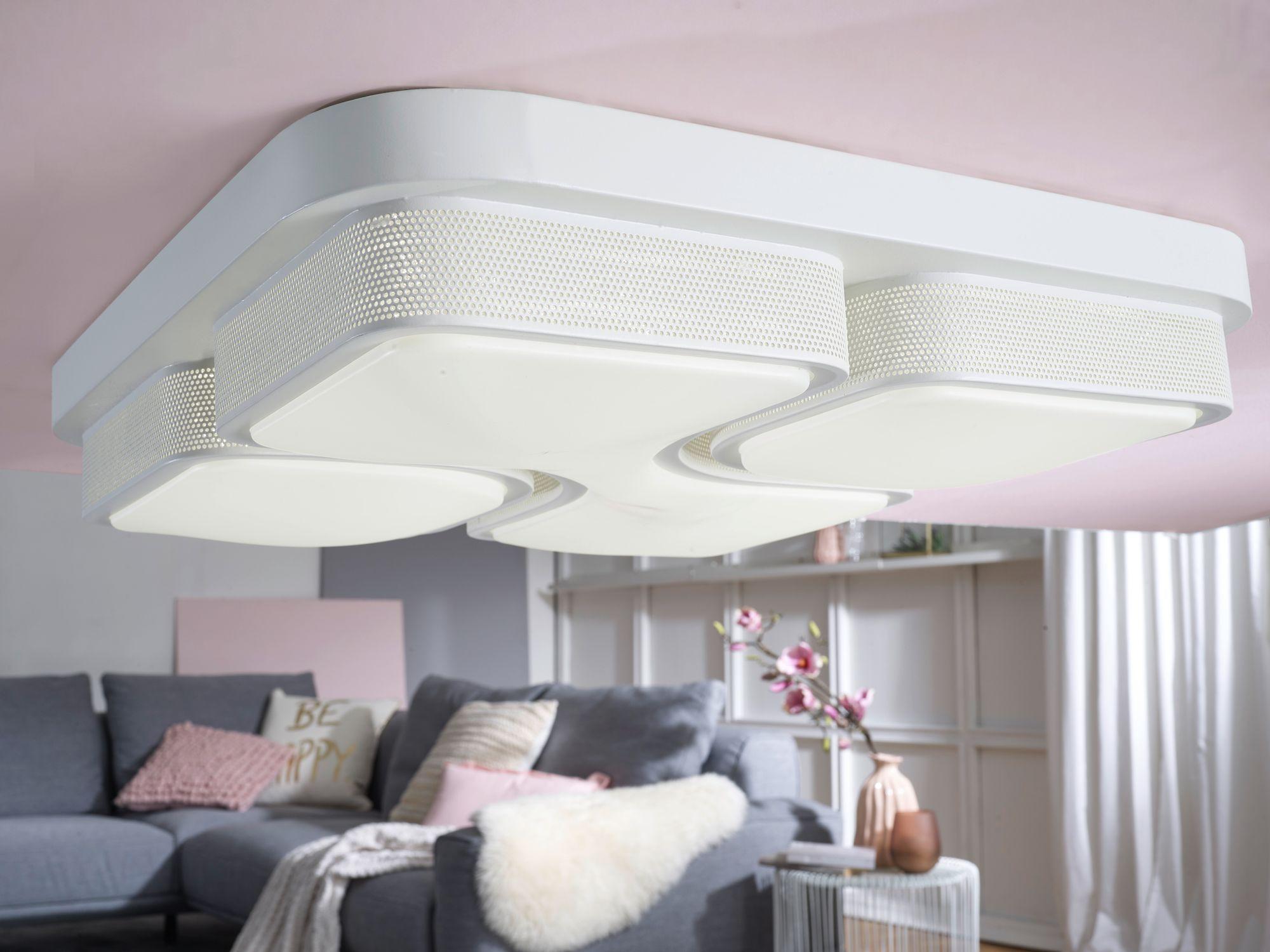FineBuy LED Deckenlampe 32W Lampe Wohnzimmer Deckenleuchte A+ Beleuchtung