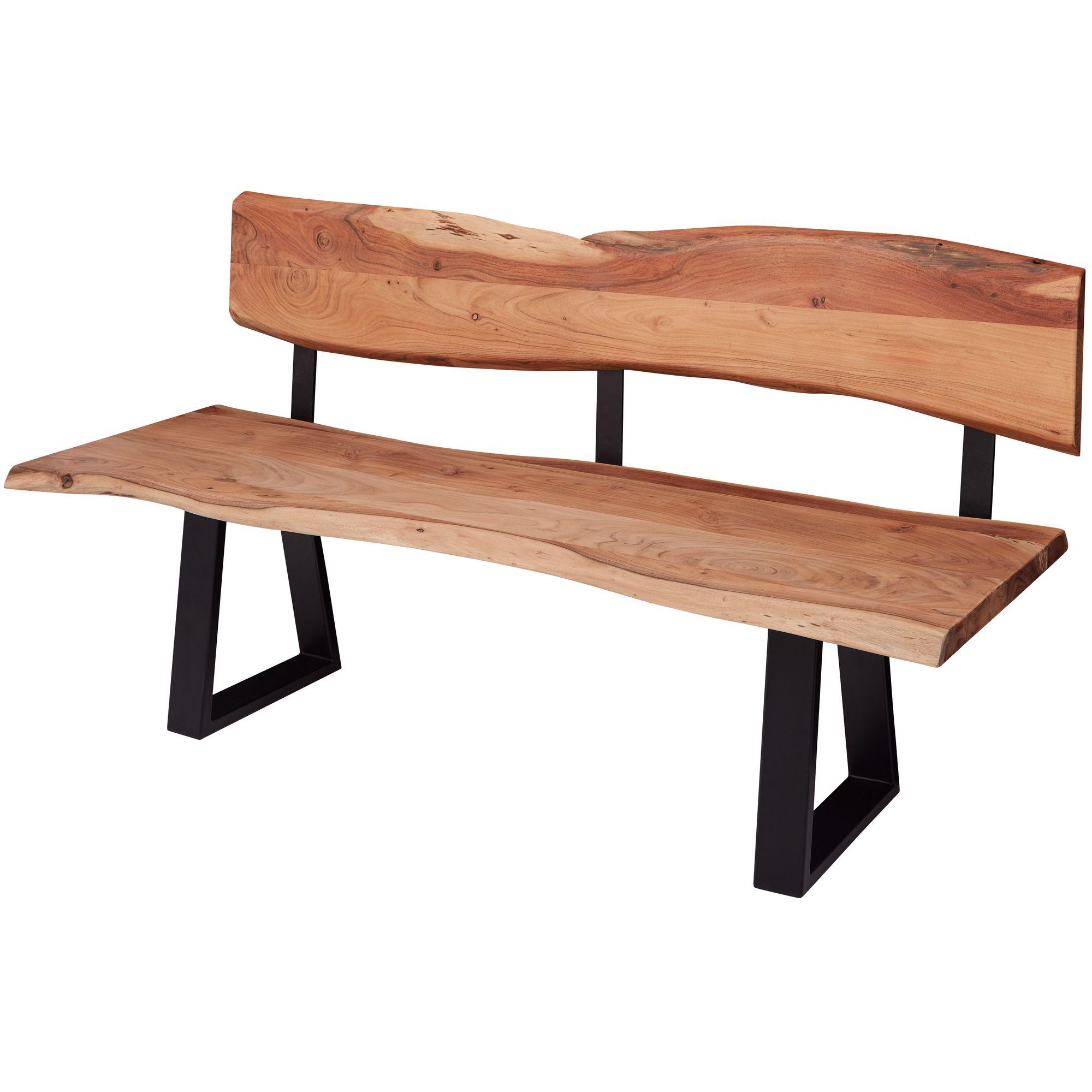 akazie-massivholz Einfache Sitzbänke online kaufen | Möbel ...