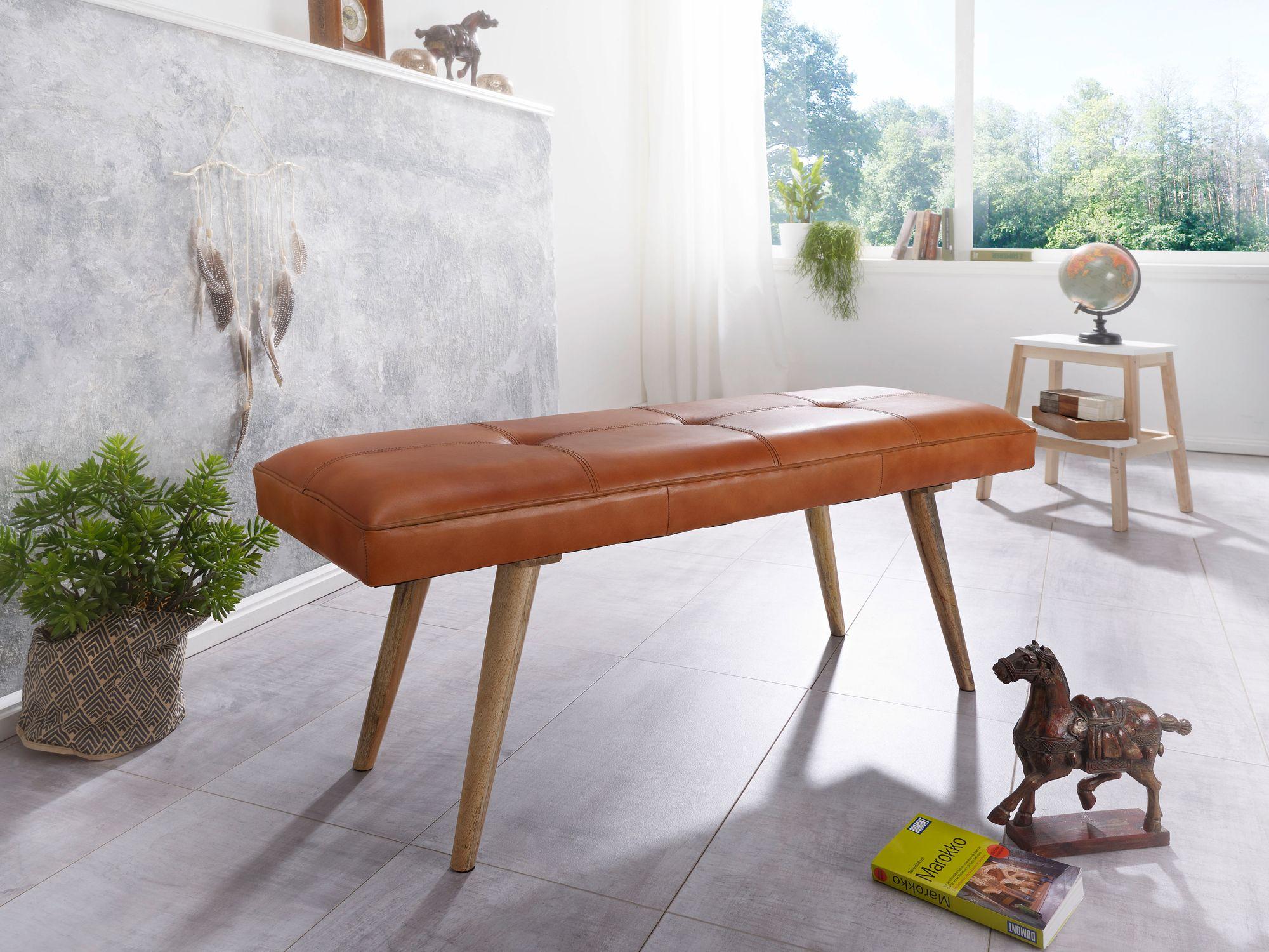 Distanza Panca Da Tavolo : Finebuy panchina silam panca in pelle legno massiccio sala da bank