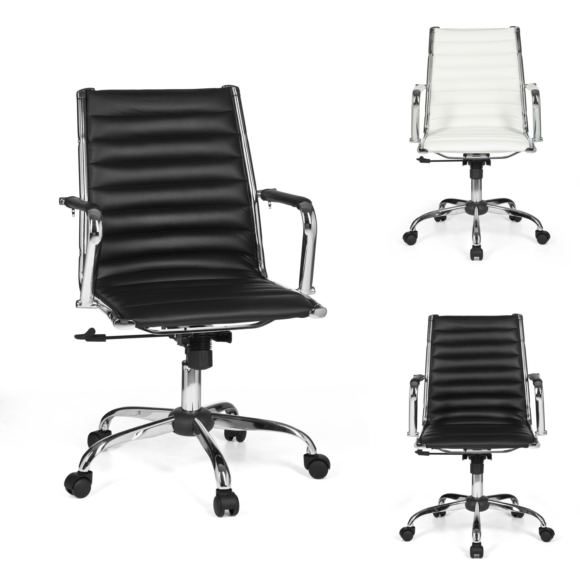 Design Bürostuhl GENUA Schreibtischstuhl Chefsessel Büro Sessel Konferenzstuhl