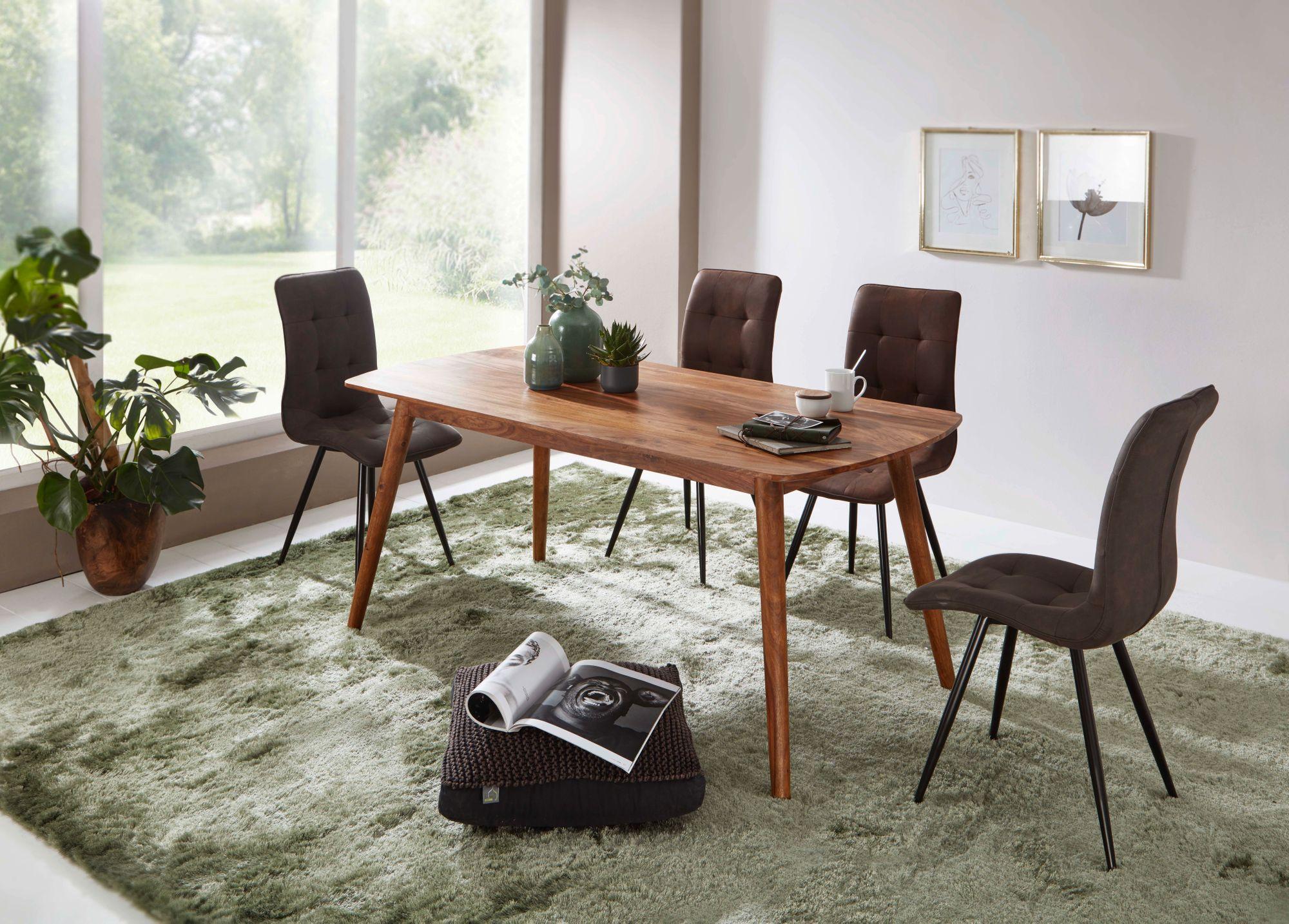 Cuisine Maison Campagne cuisine & maison finebuy table à manger bois massif table de