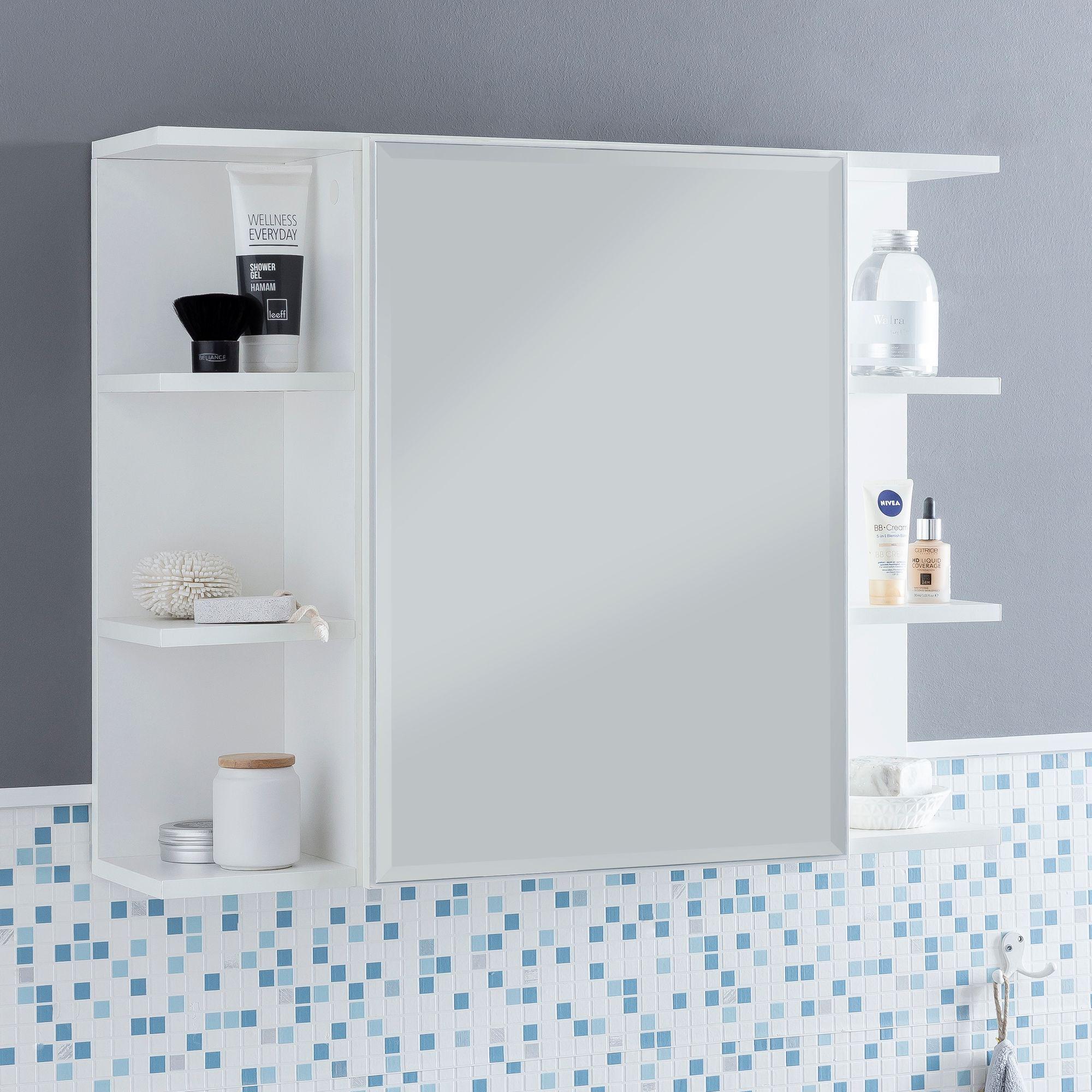 Hangeschrank Spiegelschrank Wandschrank Badezimmerschrank Regal