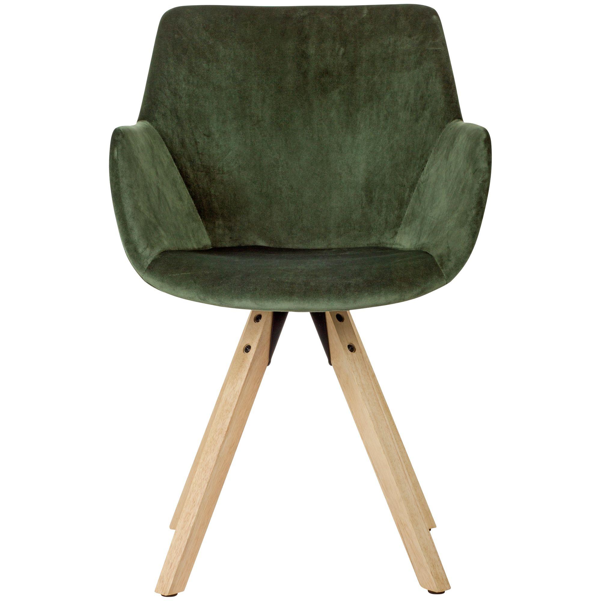 Wohnling Esszimmerstuhl 2er Set Grun Schalenstuhl Kuchenstuhl Samt Stuhl Modern