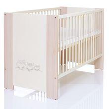 LCP Kids Kinderbett Eulen Creme 120x60 cm