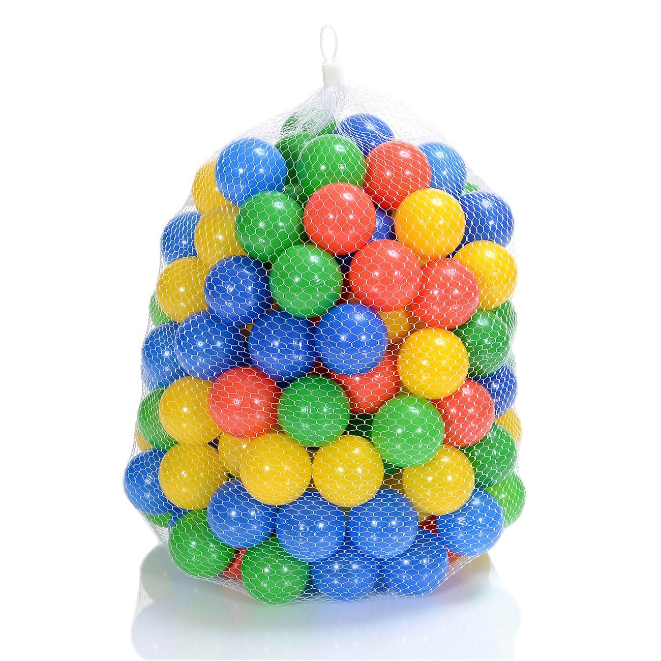 LCP Kids Kinder Spielbälle für Bällebad und Spiel günstig kaufen 100 stk Bunte