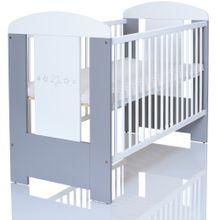 LCP Kids Kinderbett Greystars Grau 120x60 cm 001
