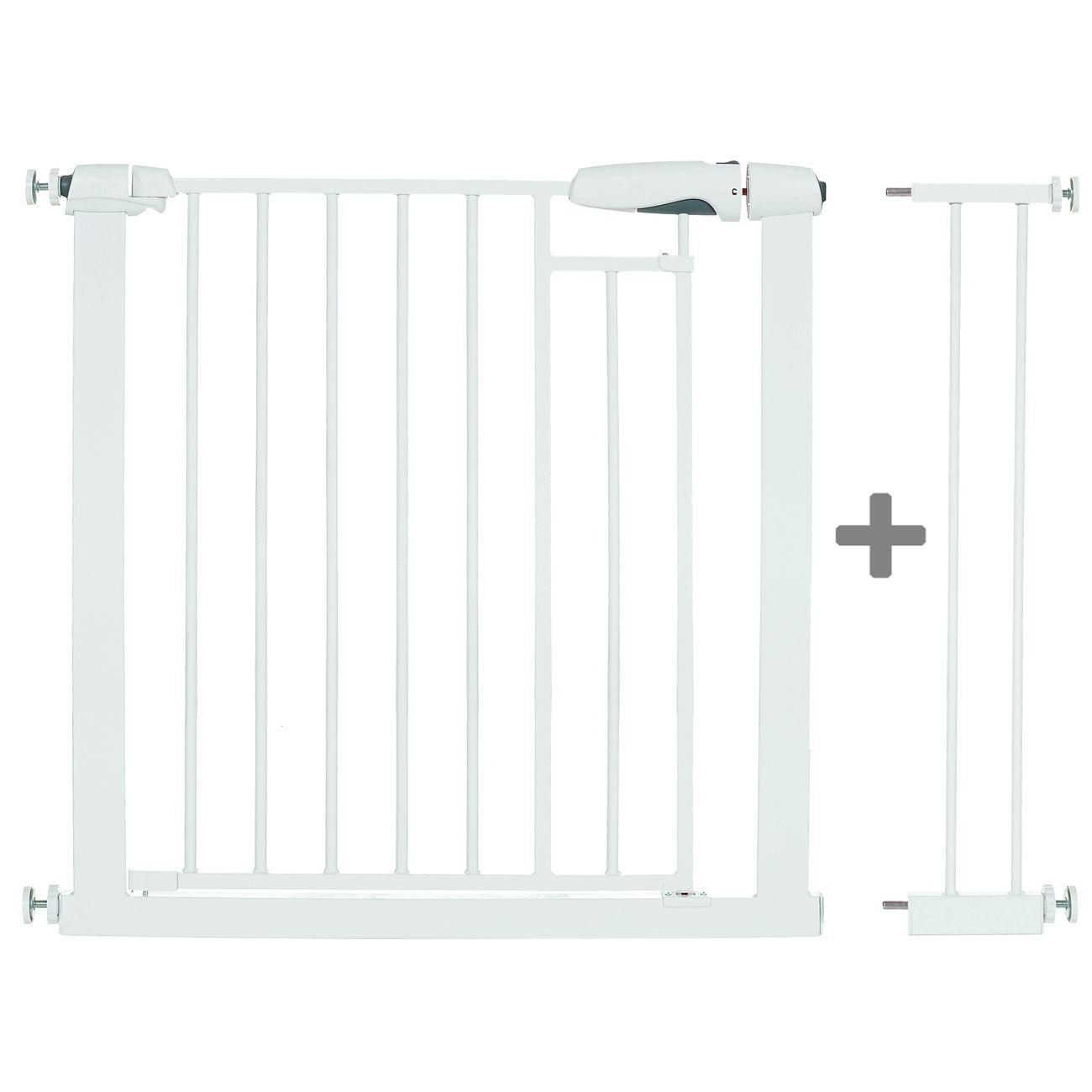 treppengitter treppenschutzgitter t rgitter auto close ohne bohren 76 97 cm ebay. Black Bedroom Furniture Sets. Home Design Ideas