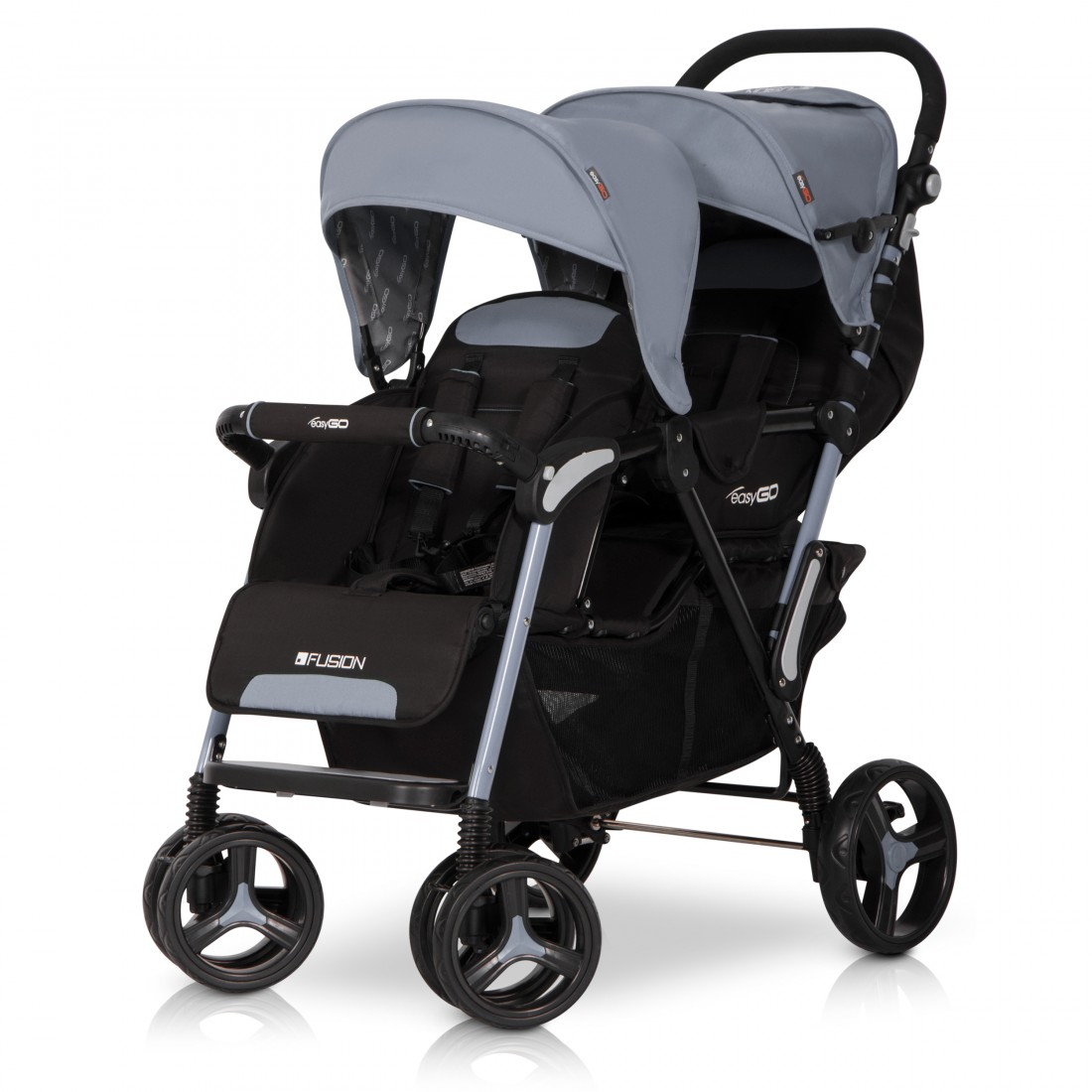 fusion geschwisterwagen baby zwillingsbuggy kinderwagen. Black Bedroom Furniture Sets. Home Design Ideas