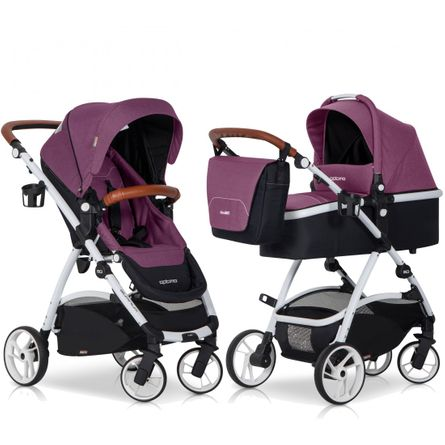 OPTIMO Purple 2in1 Kombikinderwagen