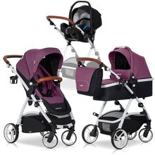 OPTIMO Purple 3in1 Kombikinderwagen