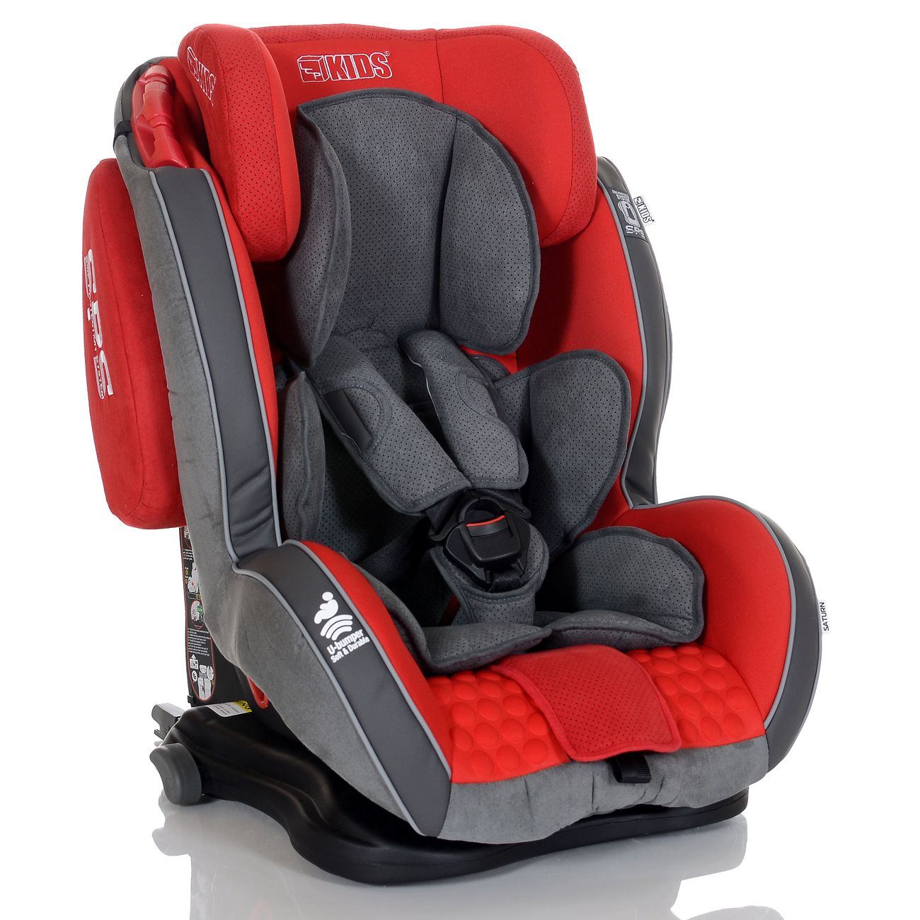 auto kindersitz gt isofix 9 36 kg gruppe 1 2 3 rot grau mit schlafposition ebay. Black Bedroom Furniture Sets. Home Design Ideas