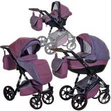 3in1 Kombikinderwagen GT ONE Farbe: Purple