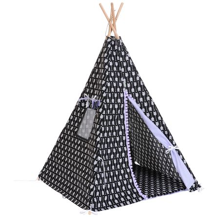 TIPI Indians Spielzelt  Motiv.: Arrow Gray