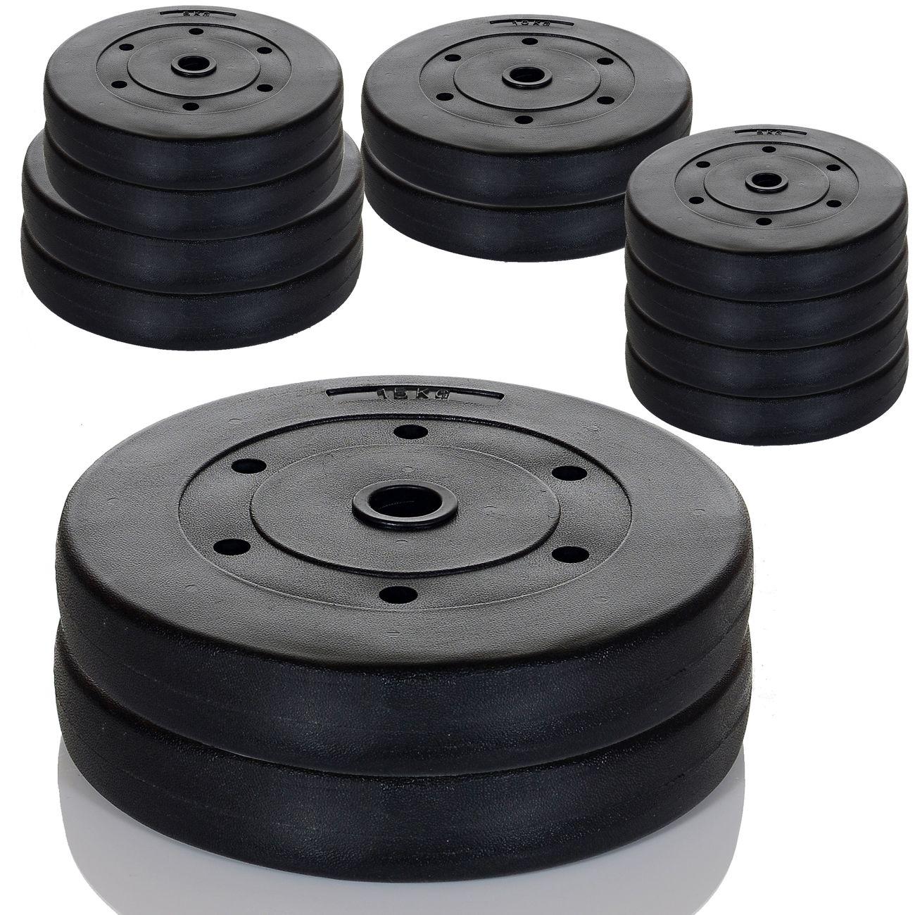 hantelscheiben gewichte 20 oder 30 kg set f r fitness. Black Bedroom Furniture Sets. Home Design Ideas