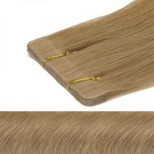Tape In Tressen Remy Echthaar - 8 Tressen - 60 cm Farbe: #14 blond natur