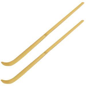2x teevendo® Matchalöffel aus Bambus