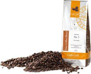 250g Espresso No.3 Café Cult, ganze Bohne
