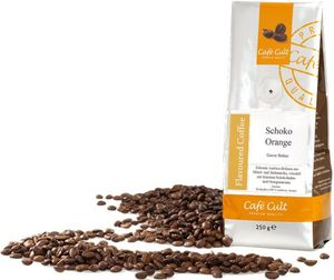 250g Schoko-Orange Café Cult, ganze Bohne