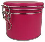 Bügelverschlussdose pink 10x9cm Bild 1