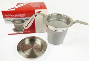 Edelstahl-Teefilter Tealogic 59mm mit Doppelhenkel