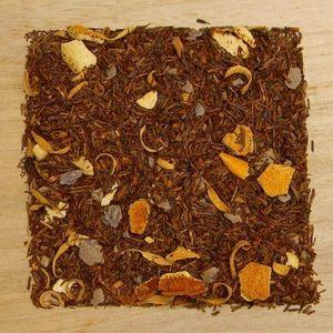1000g Schoko/Orange - arom. Rotbuschtee
