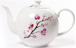Shamila® Teekanne 1,2l Cherry Blossom Bone China