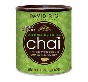 David Rio Chai Tortoise Green Tea 1816g Dose
