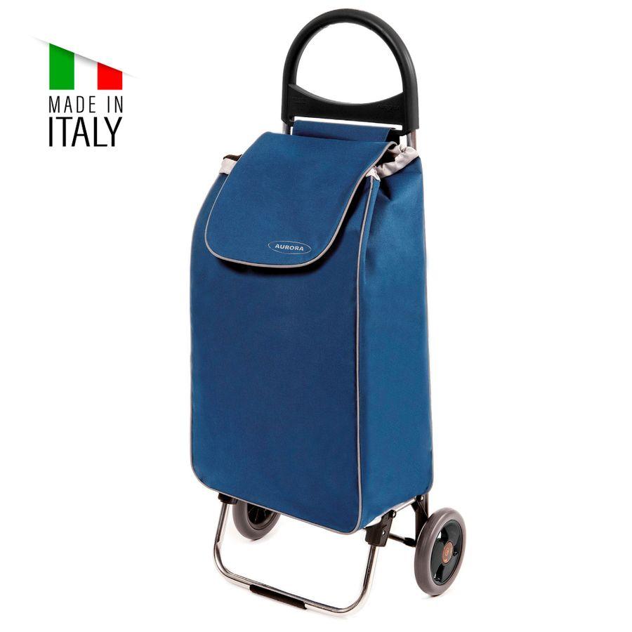 Einkaufstrolley ZUSSI - Einkaufshilfe in blau