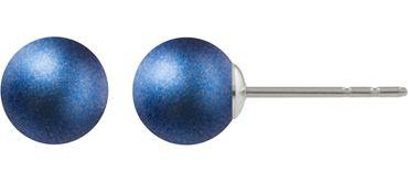 Perlenohrstecker mit 8mm Swarovski ® Perle - Sterlingsilber – Bild 10