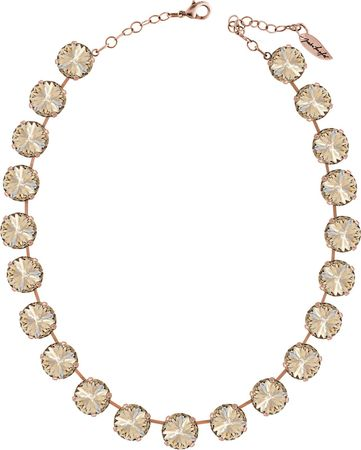 Collier Rivoli, rosé vergoldet in 14mm – Bild 5