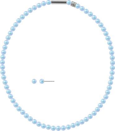 Pearl necklace, small, 6mm, with original SWAROVSKI - pearls – Bild 25