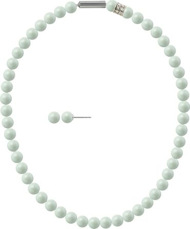 Pearl necklace, small, 6mm, with original SWAROVSKI - pearls – Bild 20