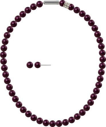 Pearl necklace, small, 6mm, with original SWAROVSKI - pearls – Bild 3