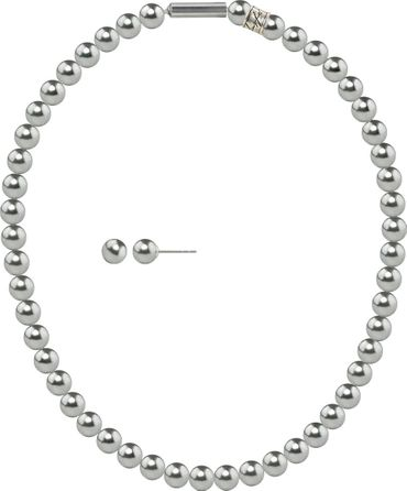 Pearl necklace, small, 6mm, with original SWAROVSKI - pearls – Bild 7
