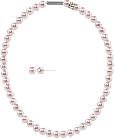 Pearl necklace, small, 6mm, with original SWAROVSKI - pearls – Bild 13