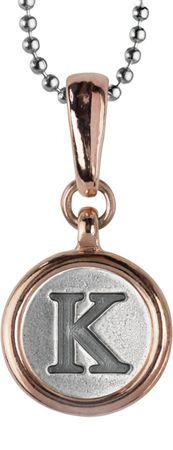 Chelsea Buchstaben-Anhänger 12mm, bicolor mit Kugelkette – Bild 11