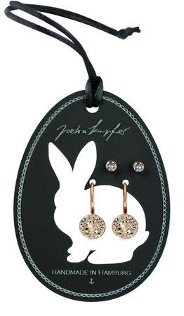 Geschenkdisplay Ostern mit einem Paar Ohrstecker und einem Paar Ohrhänger – Bild 3