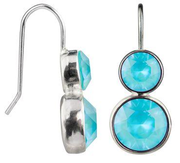 Doppelohrhänger Twice mit je 2 Crystals from Swarovski® – Bild 3