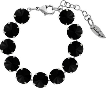 Bracelet with 12mm Rivoli, silver plated – Bild 10