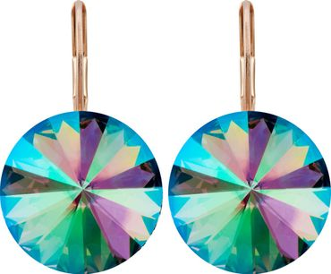 Earring with 14mm Swarovski Rivoli crystals – Bild 19