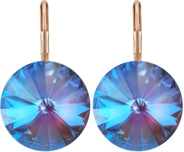 Earring with 14mm Swarovski Rivoli crystals – Bild 9