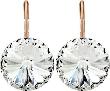 Earring with 14mm Swarovski Rivoli crystals – Bild 15