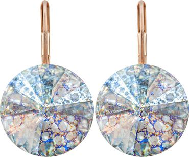 Earring with 14mm Swarovski Rivoli crystals – Bild 17