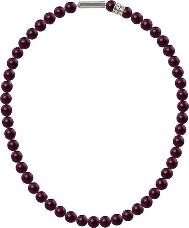 Necklace with Crystal Pearls, medium, 8mm from Swarovski – Bild 2