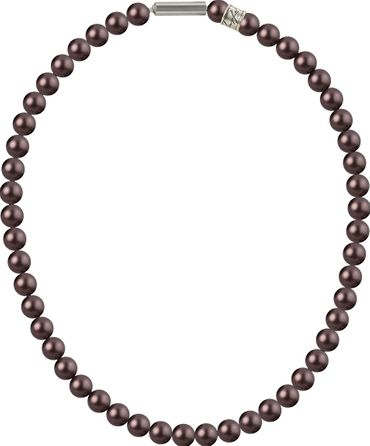 Necklace with Crystal Pearls, medium, 8mm from Swarovski – Bild 21
