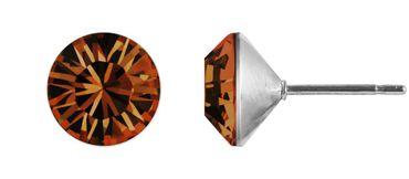 Ohrstecker Kegel 6mm Chaton – Bild 12