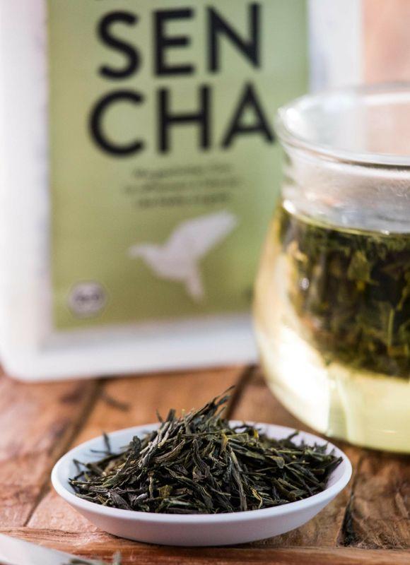 Sencha Grüntee - lose Blätter 108 Tassen für Teekenner  – Bild 2