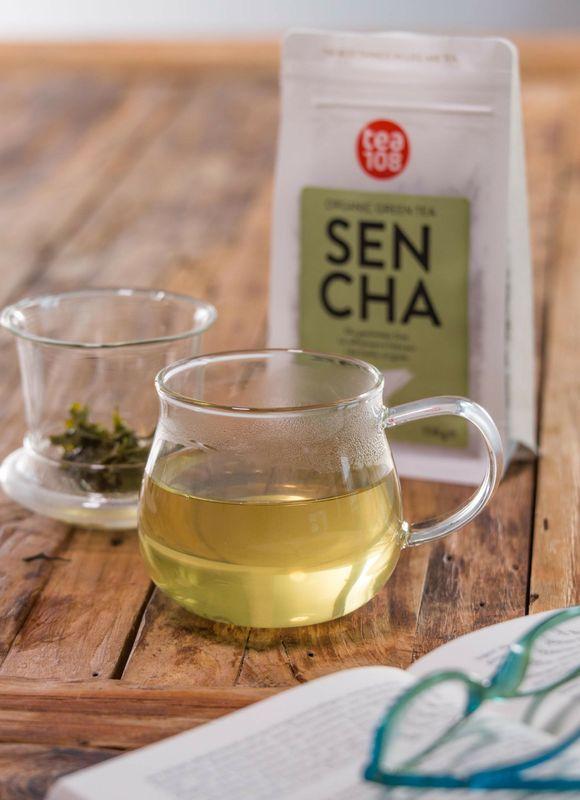 Sencha Grüntee - lose Blätter 108 Tassen für Teekenner  – Bild 3