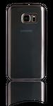 Soft Cover für Samsung Galaxy S7 edge Electro Schwarz matt 002